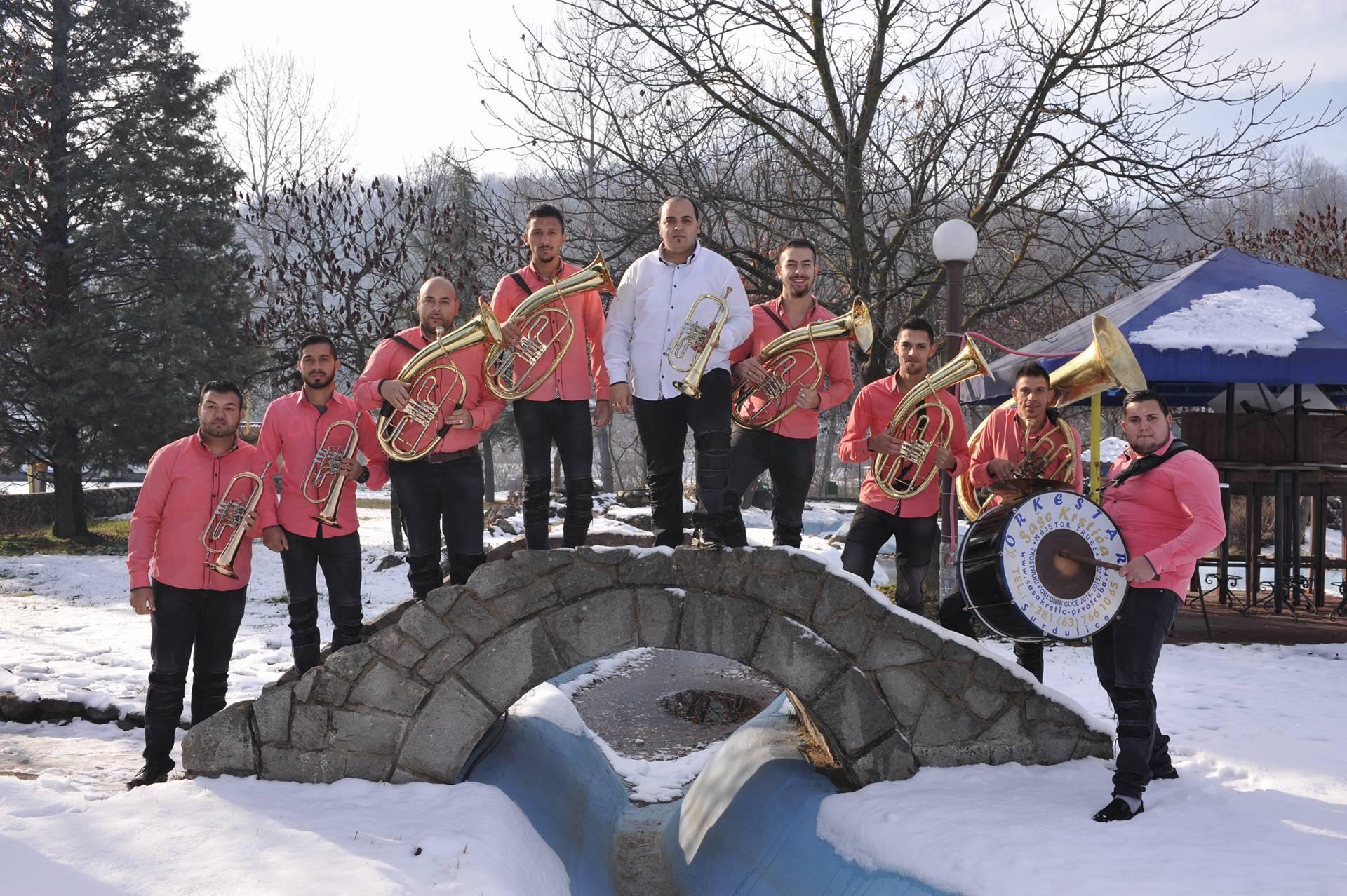 Orkestar Saše Krstića - Trubači za svadbe