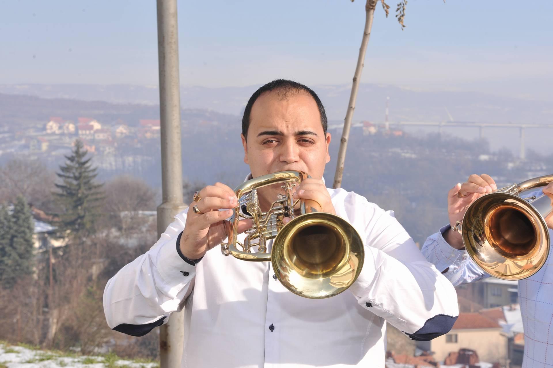 Saša Krstić - prva truba - Trubači za svadbe
